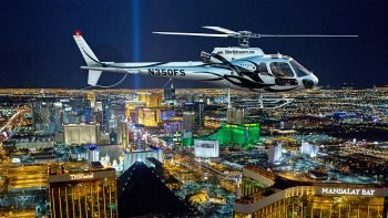 Vegas Night Strip Helicopter Tour Flight