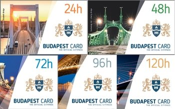 Budapest Card with Unlimited Public Transport