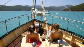 Whitsundays Tall Ship Sailing & Snorkeling Cruise