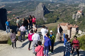2-Day Rail Tour to Meteora from Athens with Accommodation