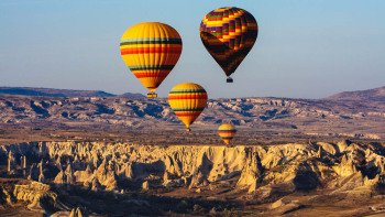 Sunrise Hot Air Balloon Flight with Champagne & Transportation