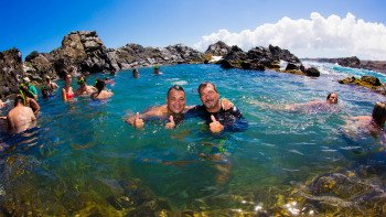 Natural Pool Jeep Safari with Barbecue Lunch