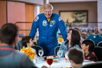 Kennedy Space Center Dine with an Astronaut Experience with Transport