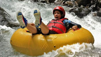 3-in-1 Zip line & Floating Tubing Adventure