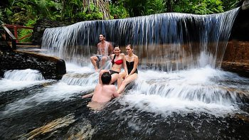Arenal Volcano National Park Tour with Tabacon Hot Springs