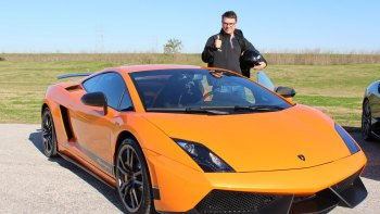Supercar Driving Experience at MSR Houston