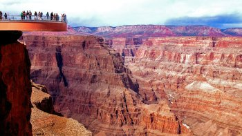 Multi-Stop Grand Canyon West Rim Bus Tour