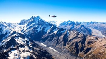 Mount Cook & Twin Glaciers Helicopter Flight with Landing