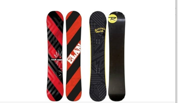 Standard Snowboard & Boots Rental Package