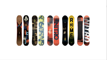 High-Performance Snowboard Rental Package