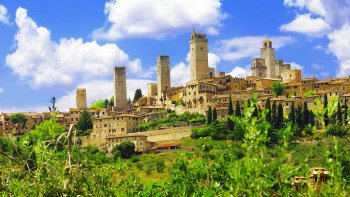 San Gimignano, Siena & Chianti Tour with Transport from Pisa