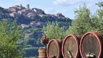 Enogastronomic Grand Tour of Montalcino, Pienza & Montepulciano