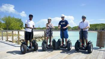 Segway Tour of Blue Lagoon Island with Beach Access
