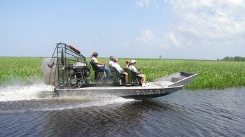 Swamp & Bayou Airboat Tour