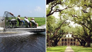 Destrehan Plantation with Airboat Ride