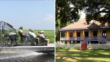 Grand Combo Plantations Tour with Airboat Ride