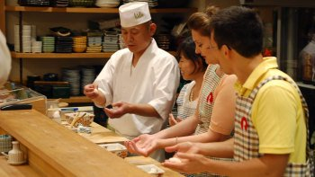 Sushi-Making Experience with Dinner