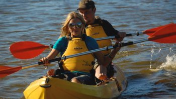Private Quad bike Tour with Kayak & Sandboard on Kangaroo Island for 4