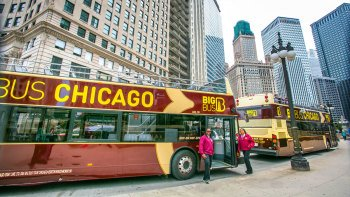 Chicago Hop-On Hop-Off Bus Tour