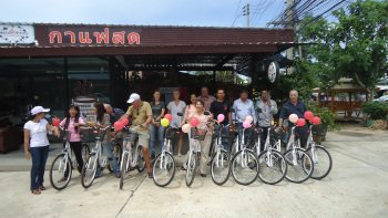 Half-Day Cha-am Evening Bicycle Tour