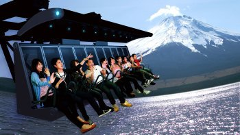 Full-Day Mt. Fuji Bus Tour with 4-D Flight Experience