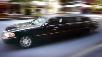 Private Luxury Black Stretch Limousine Transportation