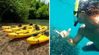 Self-Guided Kayak & Snorkel Adventure with Lunch