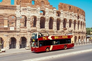 Tour in autobus hop-on hop-off di Roma