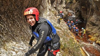 Canyoneering Experience in Dove Canyon