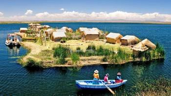 Uros Floating Islands Half-Day Boat Tour