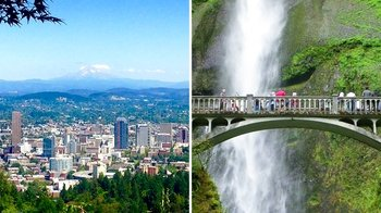 Full-Day Portland City & Gorge Waterfalls Combo Tour