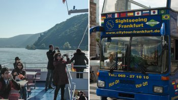 City Tour with Upper Middle Rhine Valley & River Cruise
