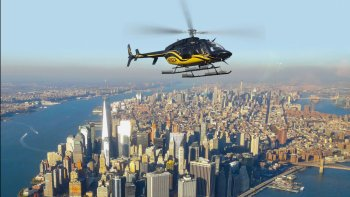 Helikoptertur over Manhattan