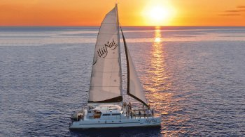Champagne Sunset Cruise from Ma'alaea
