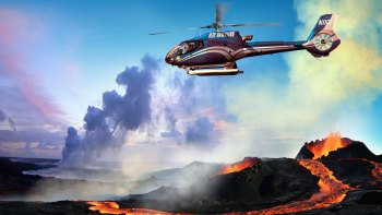 Hilo Fire & Falls Helicopter Tour