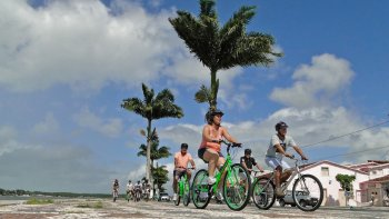 Jaqueira Indigenous Reserve & Beach Bicycle Tour