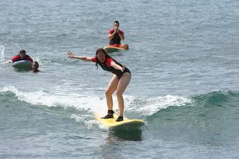 Learn to Surf