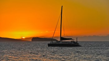 Sunset Champagne Cruise from Makena Beach