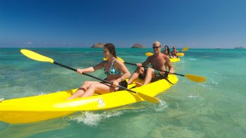 Kailua Beach Adventures' Guided Kayak Adventure