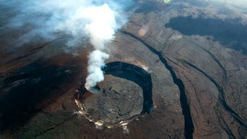 Hawaii Volcanoes National Park by Air & Land