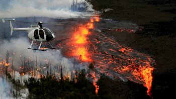 Volcanoes & Waterfalls Extreme Doors-Off Helicopter Tour