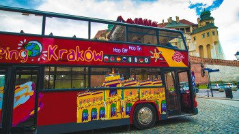 Krakow Hop-On Hop-Off Bus Tour