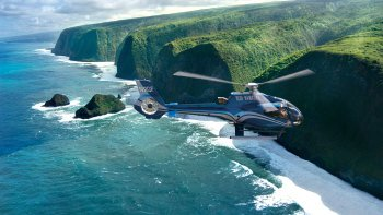 Kohala Coast Valleys & Waterfalls Helicopter Tour