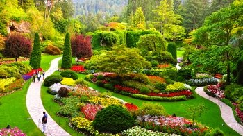 Butchart Gardens Tour via Express Shuttle