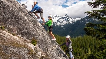 Squamish Via Ferrata Hike & Climb Tour