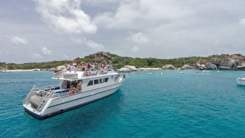 Day Cruise to Virgin Gorda & Norman Island with Breakfast, Lunch & Drinks