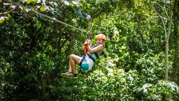 Canopy Zip lining Adventure