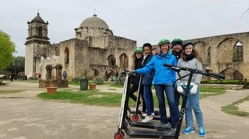Half-Day Electric Scooter to San Antonio Missions National Historic Park