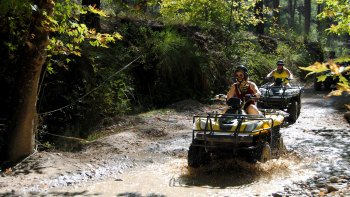 Off-Road Quad bike Excursion through Taurus Mountains