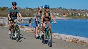 Victoria City Highlights Bicycle Tour